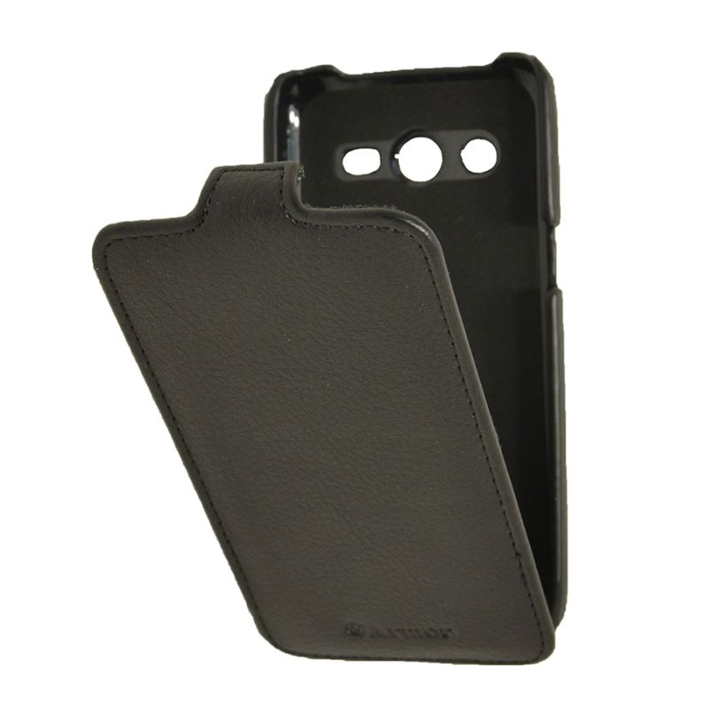 Чехол (флип-кейс) ARMOR-X flip full, для Samsung Galaxy Core LTE, черный