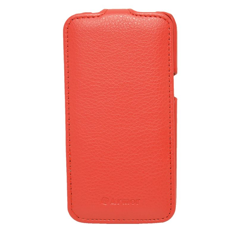 Чехол (флип-кейс) ARMOR-X flip full, для Samsung Galaxy Core LTE, красный