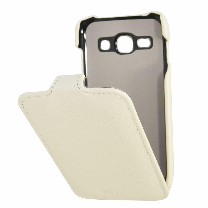 Чехол (флип-кейс) ARMOR-X flip full, для Samsung Galaxy Ace 3/Ace 3 Duos, белый