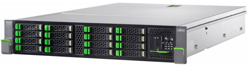 Сервер Fujitsu PRIMERGY RX300S8 1xE5-2620v2 1x8Gb 1RLV x24 15K 2.5