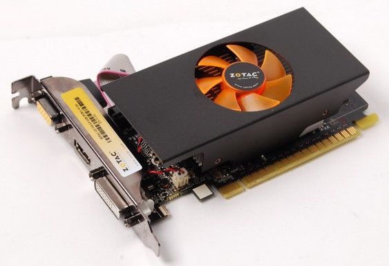 Видеокарта ZOTAC GeForce GT 730,  2Гб, GDDR5, Low Profile,  Ret [zt-71101-10l]