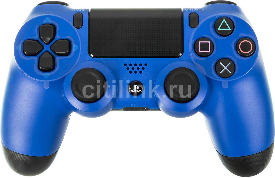 Беспроводной контроллер SONY Dualshock 4, для  PlayStation 4, синий [ps719201595]