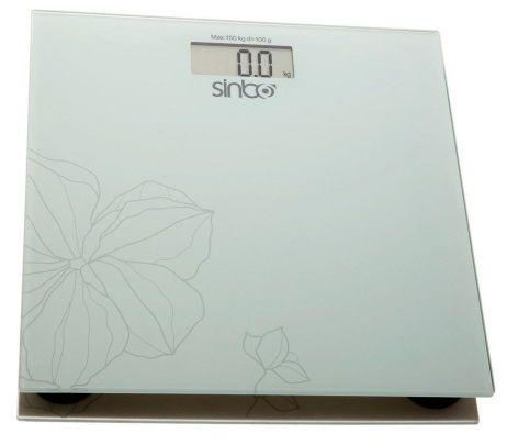 Напольные весы SINBO SBS 4418, до 150кг, цвет: белый