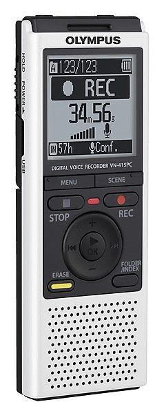 Диктофон OLYMPUS VN-415 2 Gb,  белый
