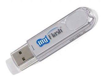 Флешка USB A-DATA Classic PD2 2Гб, USB2.0, серебристый
