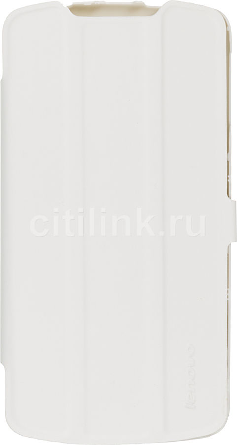 Чехол (флип-кейс) LENOVO Smart Flip Cover, 1150435 PG39A46242, для Lenovo S920, белый