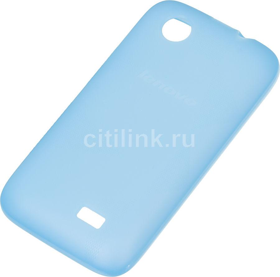 Чехол (клип-кейс) LENOVO Acc Back Cover, для Lenovo A369I, синий [1150444  pg39a465t8]