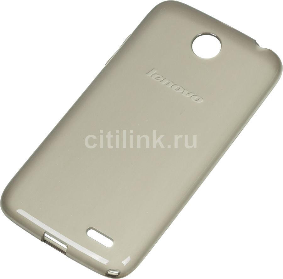 Чехол (клип-кейс) LENOVO Back Cover, для Lenovo A516, черный [1150443   pg39a465tb]