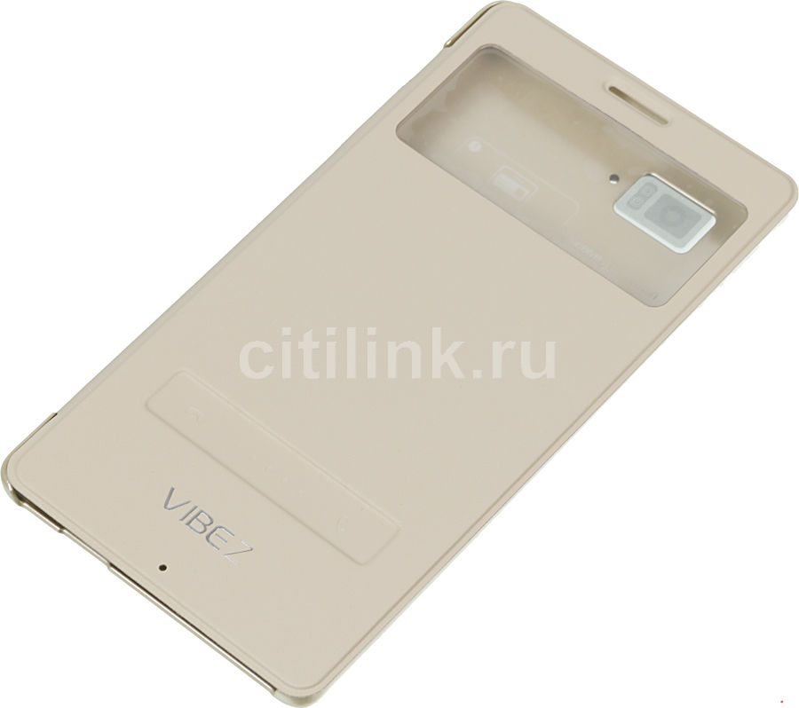 Чехол (флип-кейс) LENOVO Flip Smart Cover, 1153706 PG39A4675M, для Lenovo Vibe Z K910L, бежевый [1153706    pg39a4675m  ]