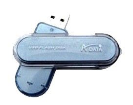 Флешка USB A-DATA Nobility PD10 8Гб, USB2.0, голубой