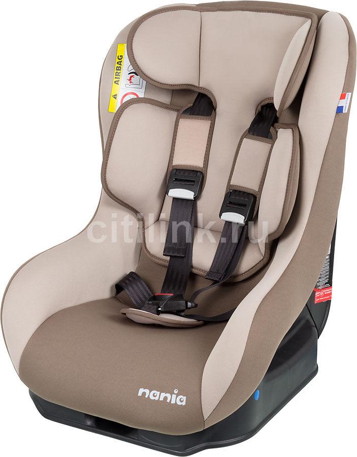 Автокресло детское NANIA Driver FST (browny atmo), 0+/1, коричневый/бежевый [043038]