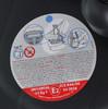 Автокресло детское NANIA Baby Ride ECO (paprika), 0/0+, черный/красный [373080] вид 8