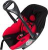 Автокресло детское NANIA Baby Ride ECO (paprika), 0/0+, черный/красный [373080] вид 2