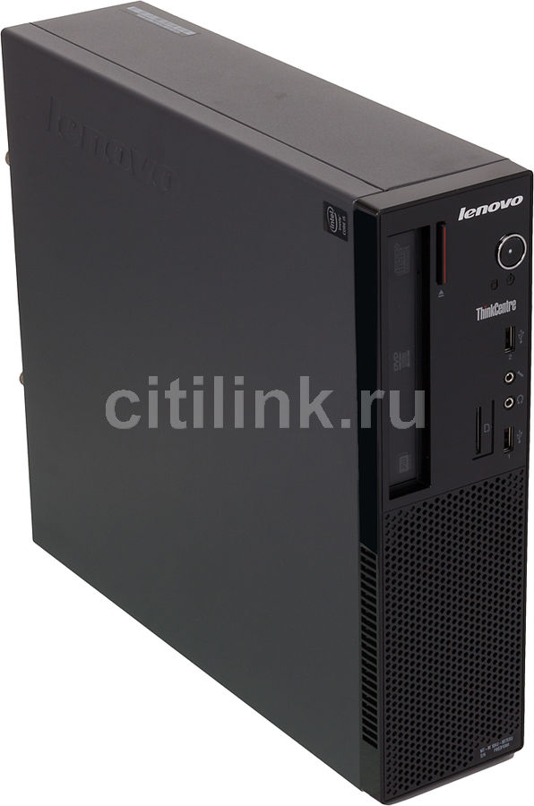 Компьютер  LENOVO ThinkCentre Edge 73,  Intel  Core i5  4430S,  DDR3 4Гб, 500Гб,  Intel HD Graphics 4600,  DVD-RW,  CR,  Free DOS,  черный [10au007xru]