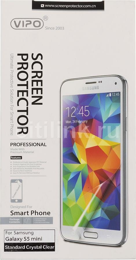 Защитная пленка VIPO для Samsung Galaxy S5 mini,  прозрачная, 1 шт