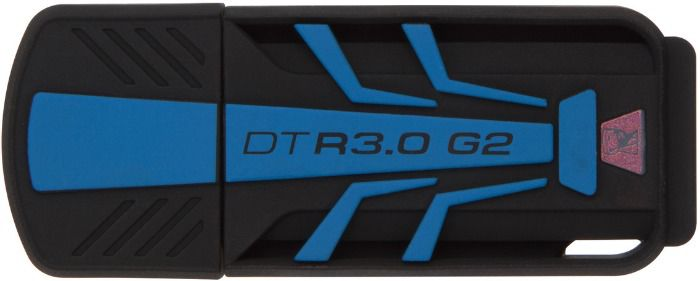Флешка USB KINGSTON DataTraveler R 32Гб, USB3.0, черный и синий [dtr30g2/32gb]