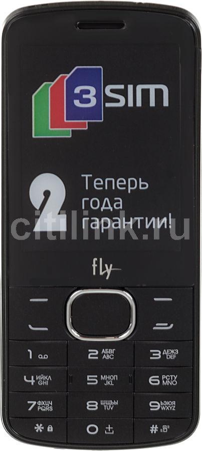 Мобильный телефон FLY TS111  черный