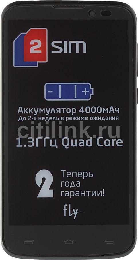 Смартфон FLY Era Energy 1 Quad IQ4502  черный