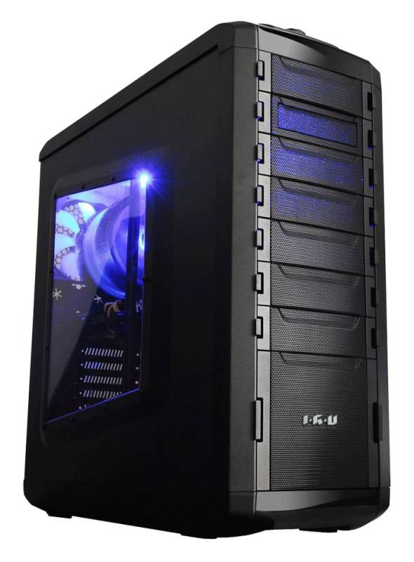 Компьютер  IRU Power 735,  Intel  Core i7  4790K,  16Гб, 3Тб,  240Гб(SSD),  nVIDIA GeForce GTX TITAN - 6144 Мб,  DVD-RW,  Windows 8.1,  черный