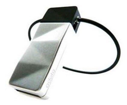 Флешка USB A-DATA Nobility N702 16Гб, USB2.0, серебристый