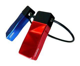 Флешка USB A-DATA Nobility N702 4Гб, USB2.0, голубой