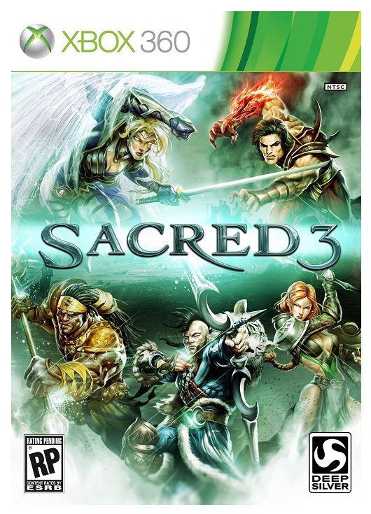 Игра MICROSOFT Sacred 3: Гнев Малахима для  Xbox360 Rus