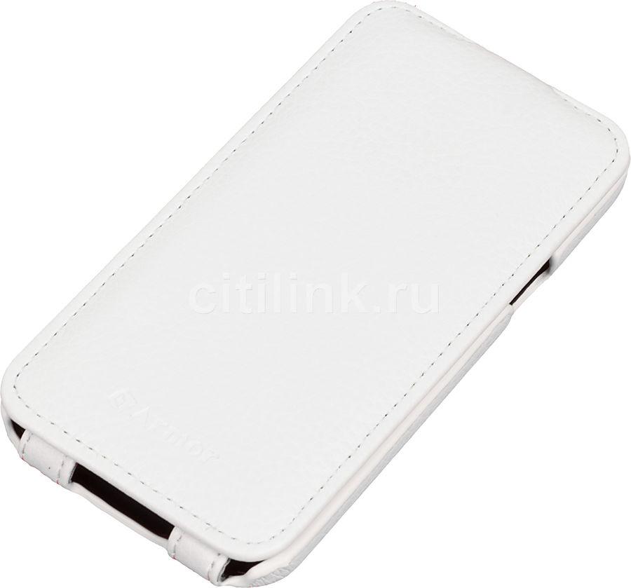 Чехол (флип-кейс) ARMOR-X flip full, для Samsung Galaxy S5 mini, белый