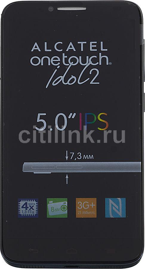 Смартфон ALCATEL Idol 2 6037Y  темно-серый