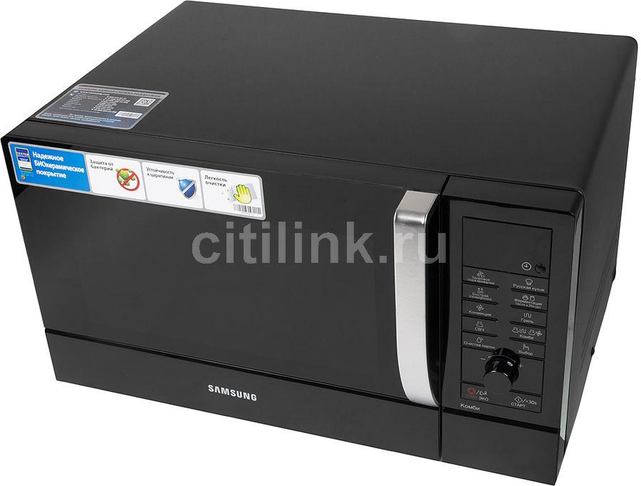 Микроволновая печь SAMSUNG CE107MNR-B, черный