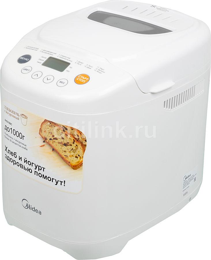 Хлебопечь MIDEA AHS15BC,  белый
