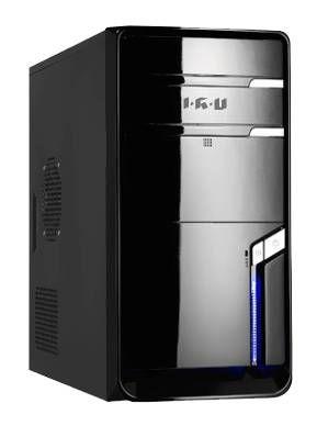 Компьютер  IRU Corp Intel  Celeron  G1620,  DDR3 4Гб, 500Гб,  Intel HD Graphics,  DVD-RW,  Windows 7 Professional,  черный [955215]