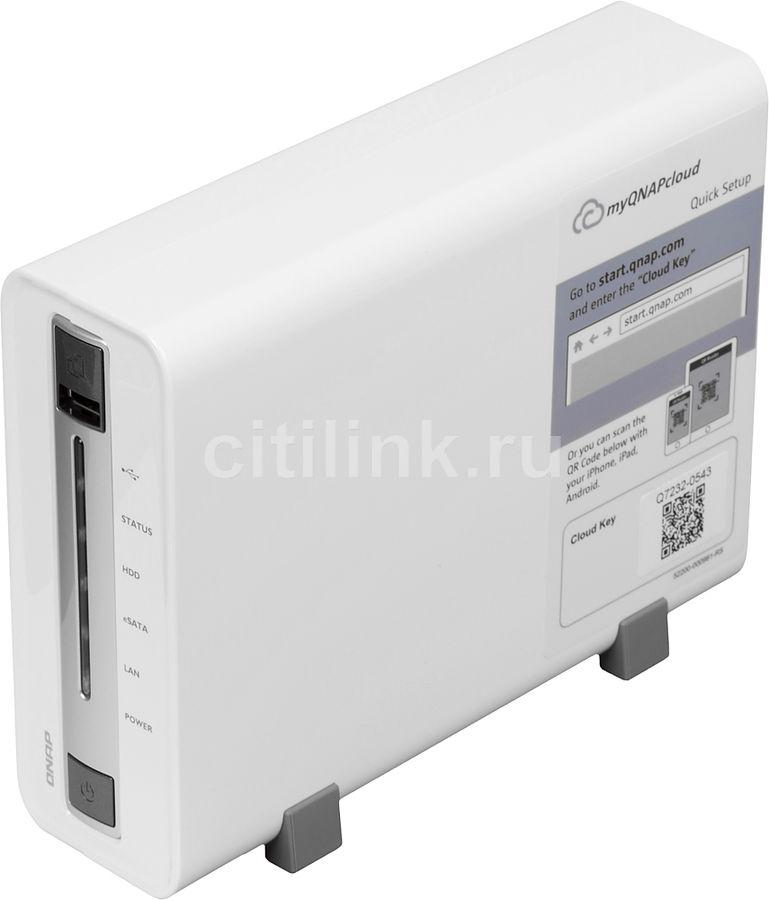 Сетевое хранилище QNAP TS-112P,  без дисков