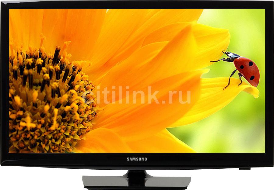 """Телевизор LED Samsung 24"""" UE24H4070AU черный HD READY USB DVB-T2 100CMR(RUS) (отремонтированный)"""