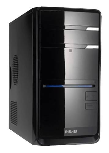 Компьютер  IRU Corp City Intel  Pentium  G3220,  DDR3 4Гб, 500Гб,  Intel HD Graphics,  DVD-RW,  Windows 7 Professional,  черный [955467]