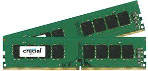 Модуль памяти CRUCIAL CT2K4G4DFS8213 DDR4 -  2x 4Гб 2133, DIMM,  Ret