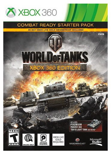 Игра MICROSOFT World of Tanks для  Xbox360 Rus