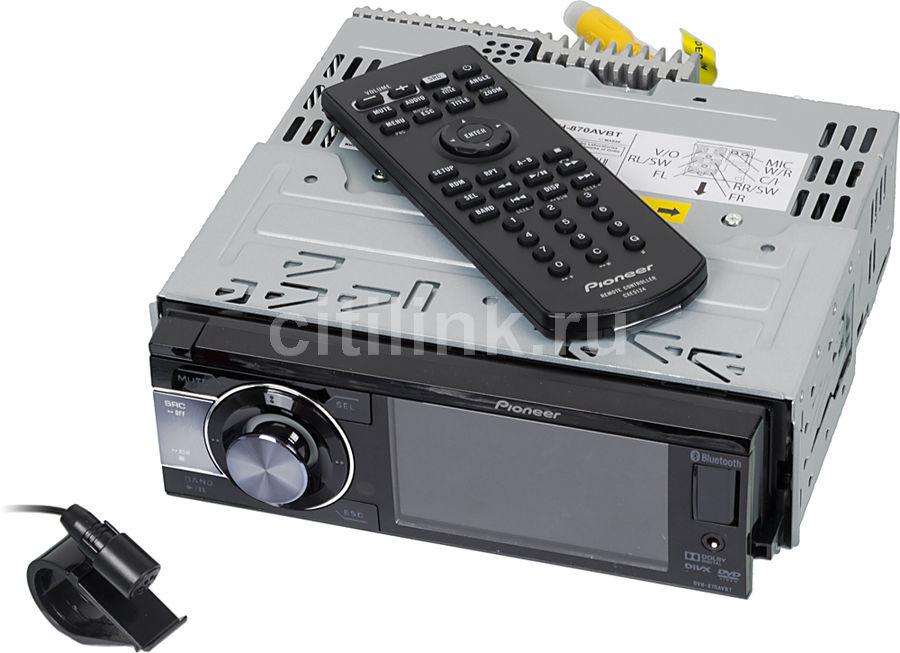 Автомагнитола PIONEER DVH-870AVBT,  USB