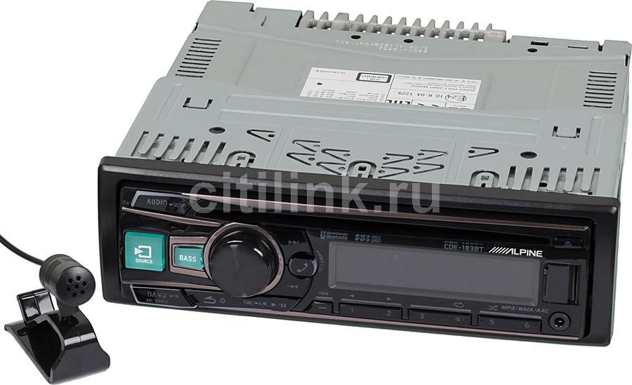 Автомагнитола ALPINE CDE-183BT,  USB