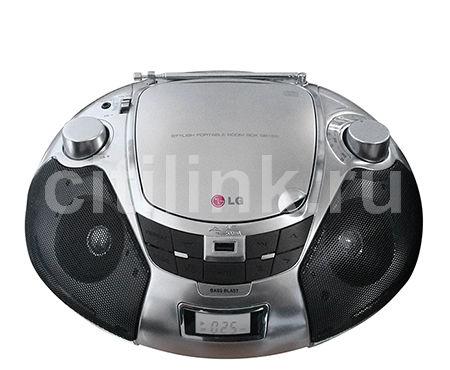 Аудиомагнитола LG SB19ST,  серебристый и черный