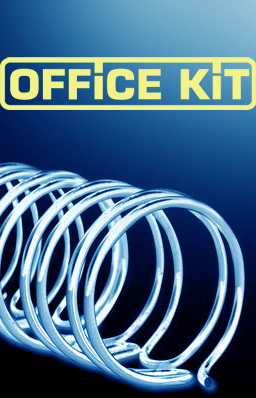 Пружина металлическая OFFICE KIT OKPM12S,  12.7мм,  80 - 100 листов,  A4,  100,  серебристый