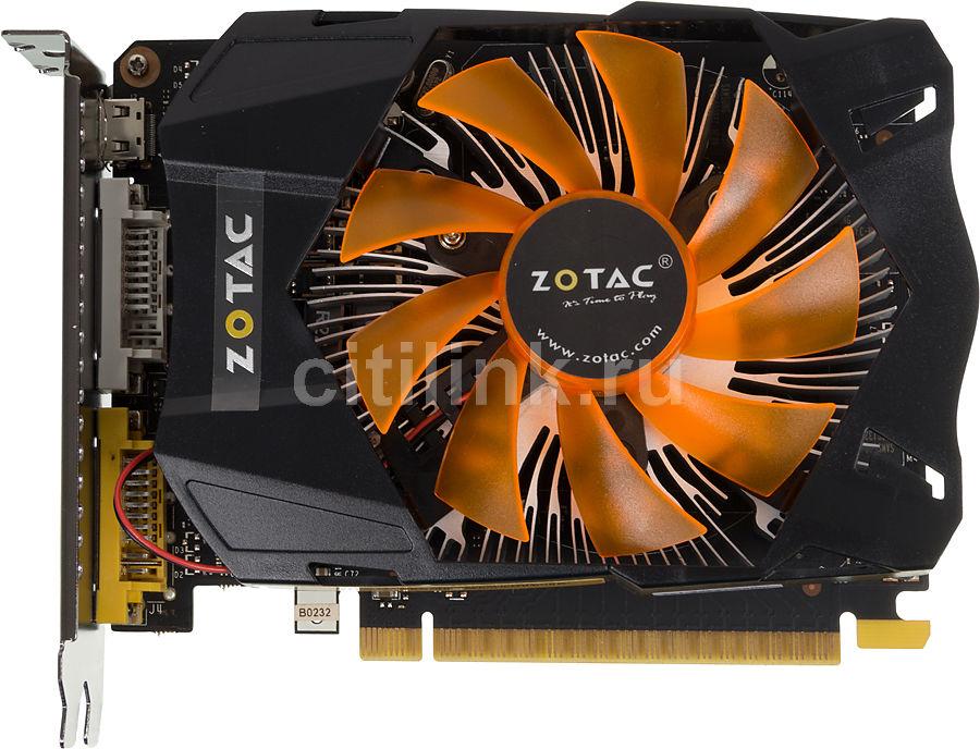 Видеокарта ZOTAC GeForce GTX 750,  ZT-70704-10M,  2Гб, GDDR5, Ret