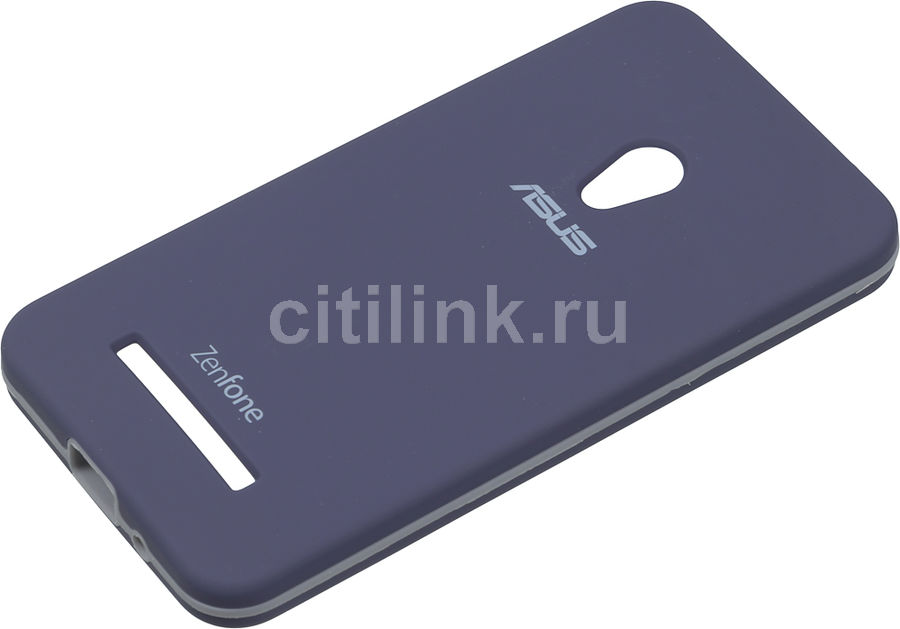 Чехол (клип-кейс) ASUS Rugged Case, для Asus ZenFone 5 (A500CG/A501CG) ZenFone 5 LTE (A500KL), синий [90xb024a-bsl000]