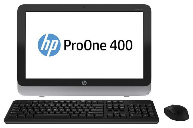 Моноблок HP ProOne 400, Intel Pentium G3240T, 4Гб, 500Гб, DVD-RW, Windows 8.1 Emerging Markets [j8s76ea]