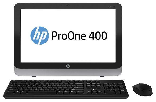 Моноблок HP ProOne 400 G1, Intel Core i3 4150T, 4Гб, 500Гб, Intel HD Graphics 4400, DVD-RW, Free DOS, черный и серебристый [j8s81ea]