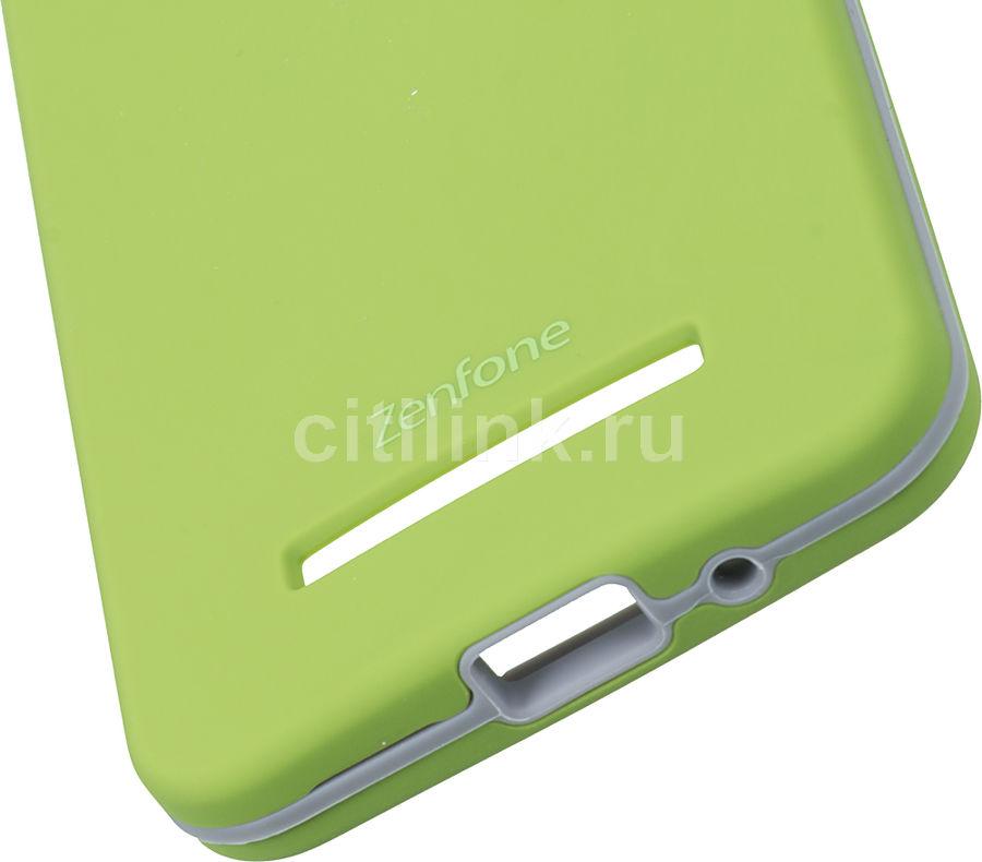 100% authentic e6e77 0280c Чехол (клип-кейс) ASUS Rugged Case, для Asus ZenFone 5 (A500CG/A501CG)  ZenFone 5 LTE (A500KL), зеленый
