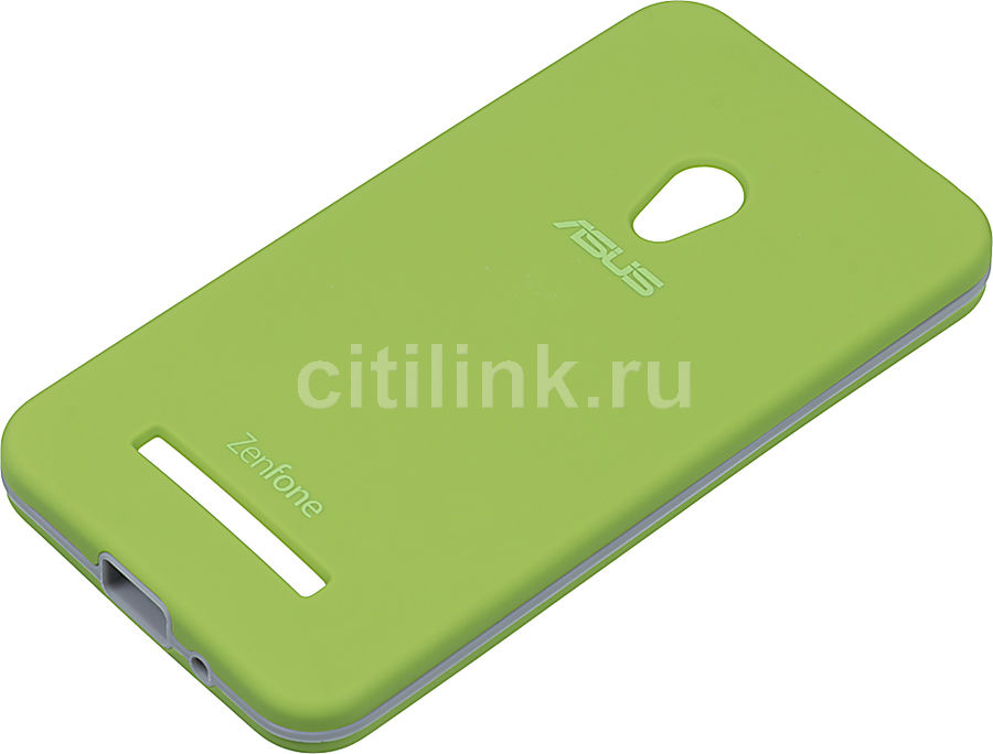 Чехол (клип-кейс) ASUS Rugged Case, для Asus ZenFone 5 (A500CG/A501CG) ZenFone 5 LTE (A500KL), зеленый [90xb024a-bsl010]