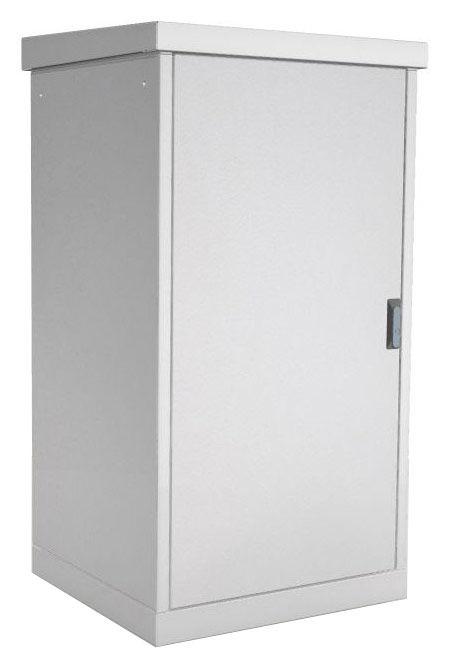 Шкаф коммутационный ЦМО (ШТВ-1-15.6.8-4ААА) 15U 600x800мм пер.дв.металл задн.дв.стал.лист 2 бок.пан.