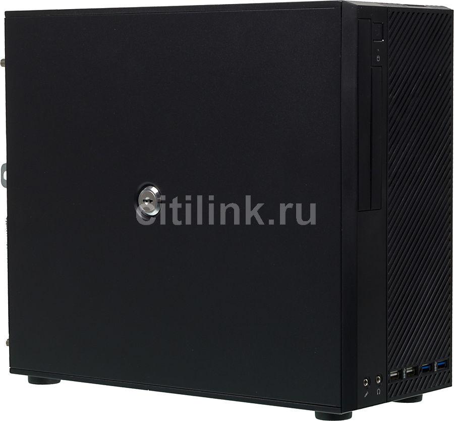 Корпус mATX FORMULA FD-312L, HTPC, 400Вт,  черный