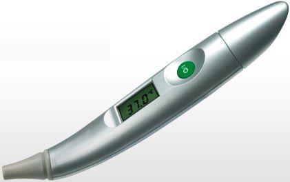 Термометр инфракрасный MEDISANA FTO,  серебристый