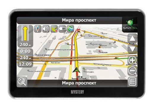 Навигатор Автомобильный GPS Mystery MNS-540MP 5